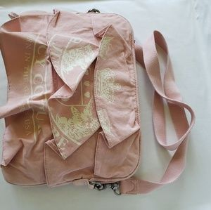 Juicy Couture Pink Ruffles Laptop Bag
